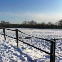 Elisenhof at winter time